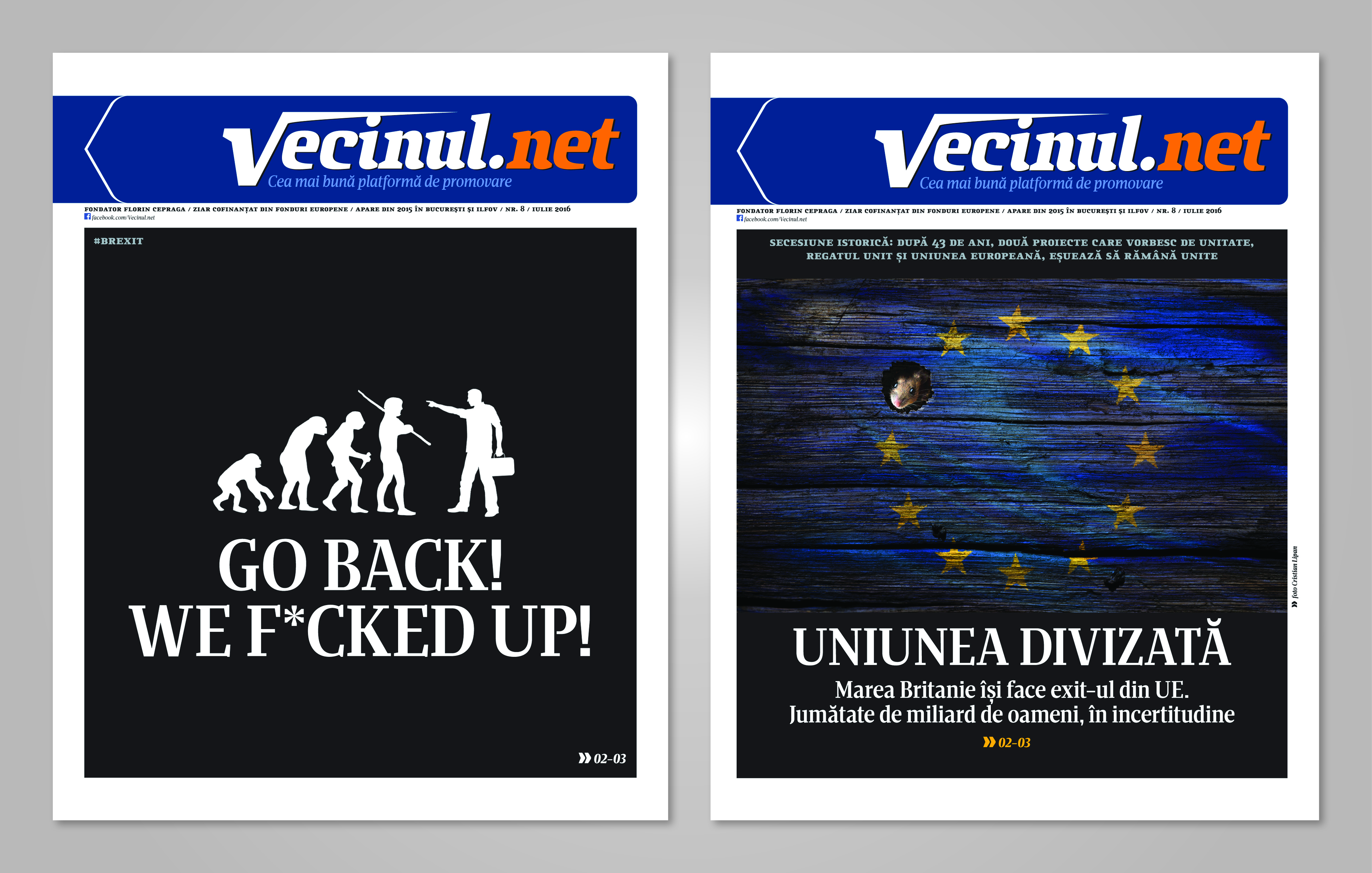Vs front page